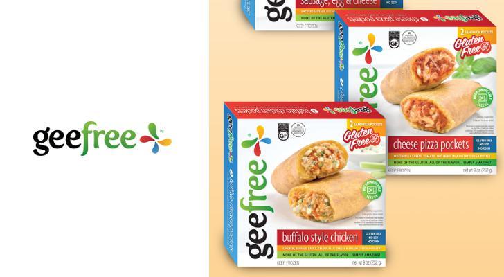 GeeFree gluten-free microwavable sandwich pockets