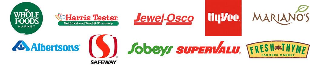 Grocerant retailer logos