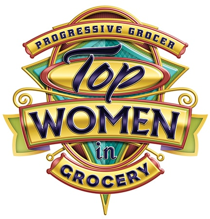 Top women in grocery logo