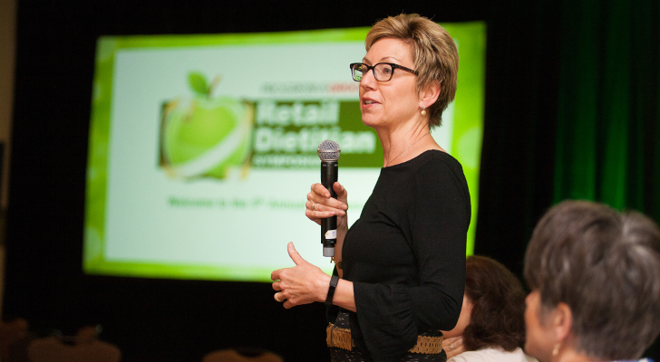 Shari Steinbach, of Shari Steinbach Nutrition & Culinary Strategies, urged RDs to create their own brand and elevator pitch