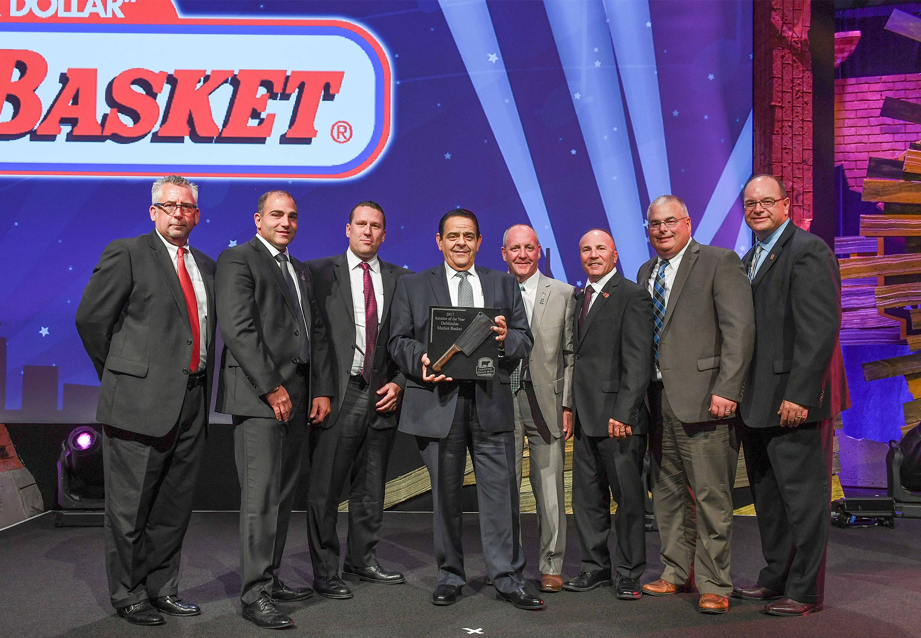 CAB honors DeMoula's Market Basket.