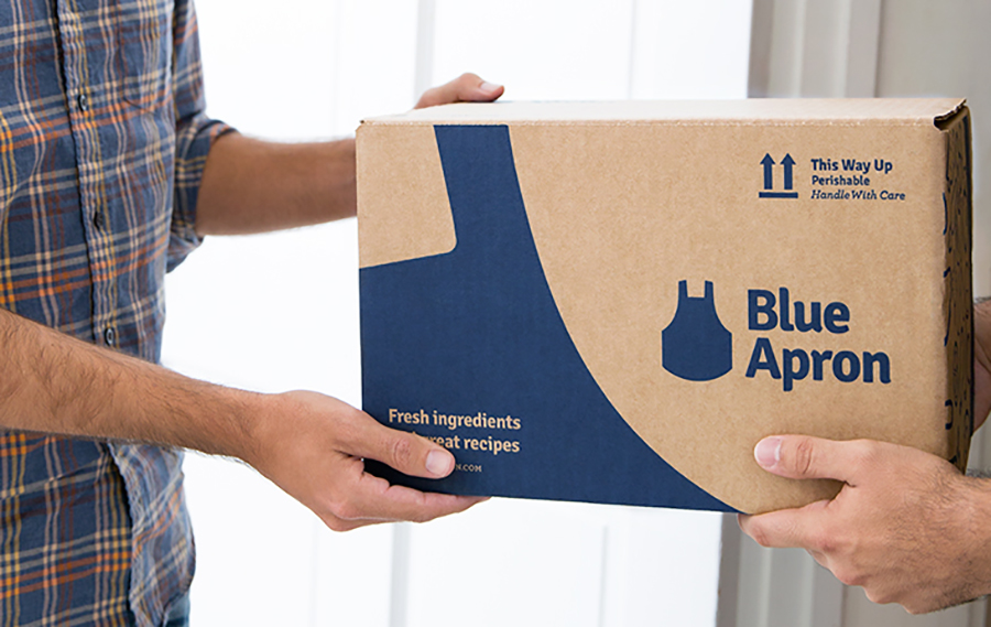 Blue Apron shares soar after replacing CEO