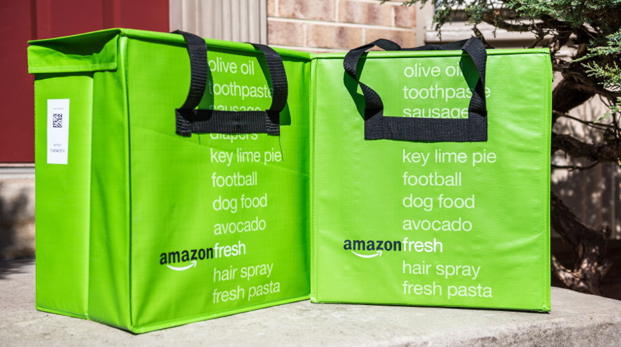 Whole Foods products boosted Amazon's online grocery sales past year, report finds