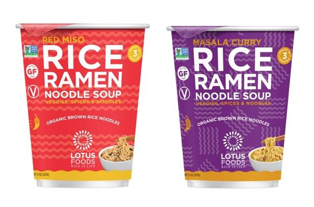 Lotus Foods Rice Ramen Noodle Soup Cups Progressive Grocer