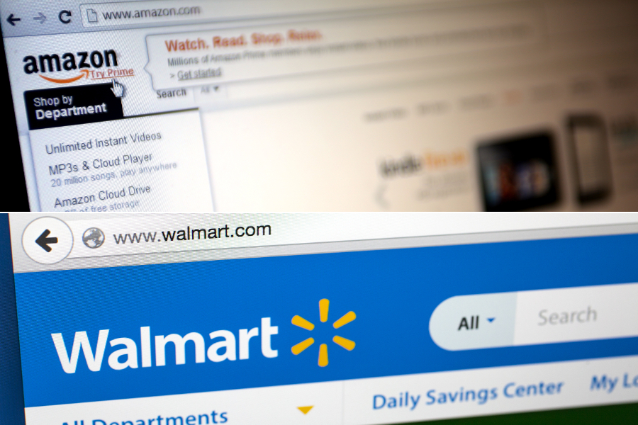 Online, Amazon is Most-Shopped Grocer, but Walmart Wins for Traditional Trips