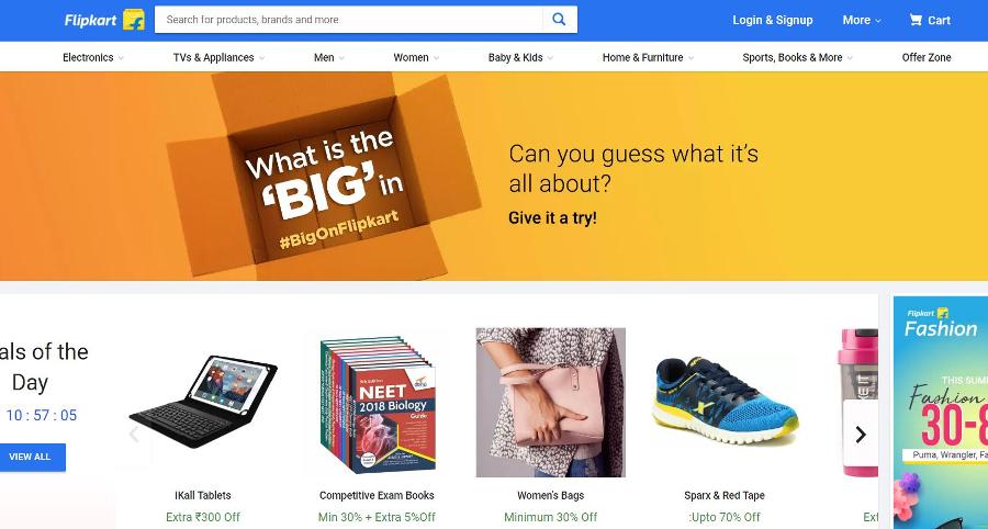 Flipkart Close to Selling Majority Stake to Walmart