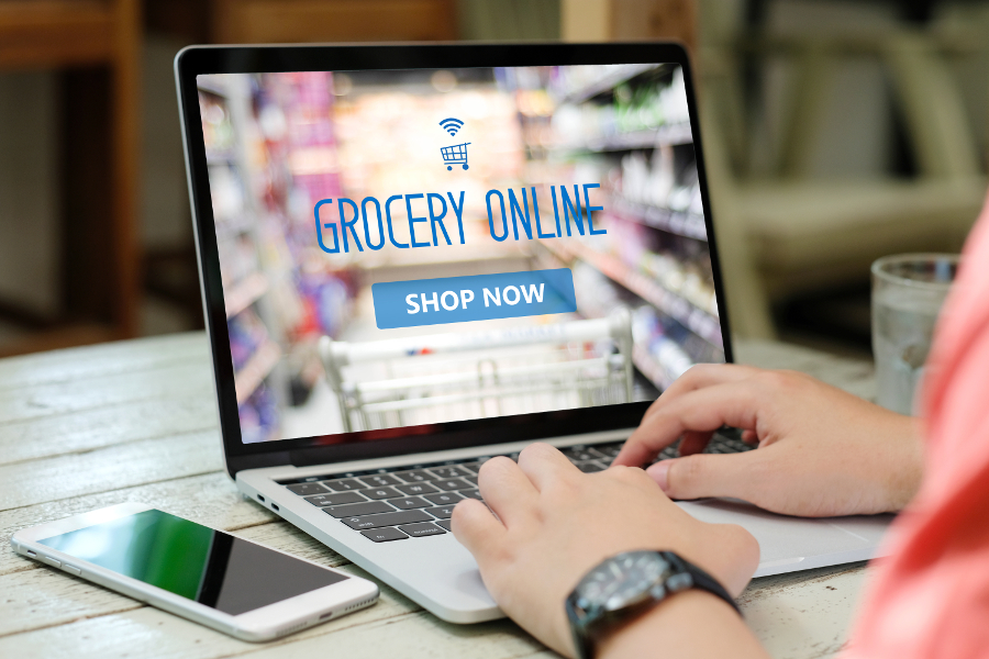 Grocery Ecommerce to Outgrow In-Store Sales Tenfold
