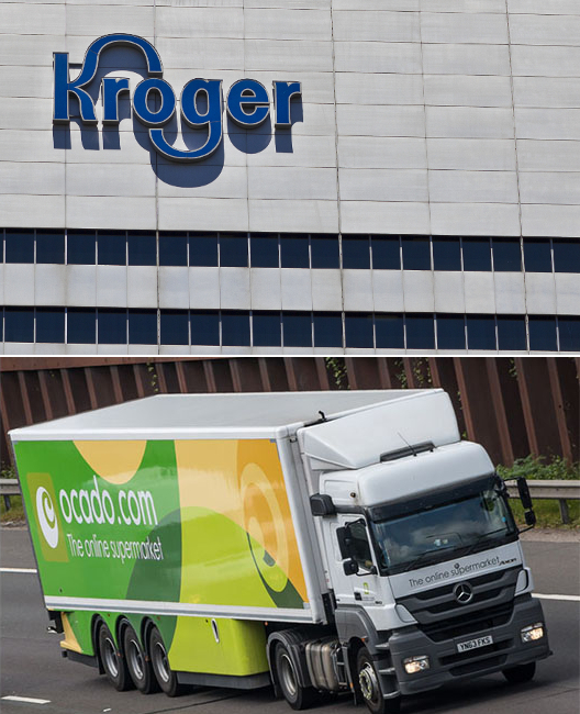 Ocado and Kroger to build online network