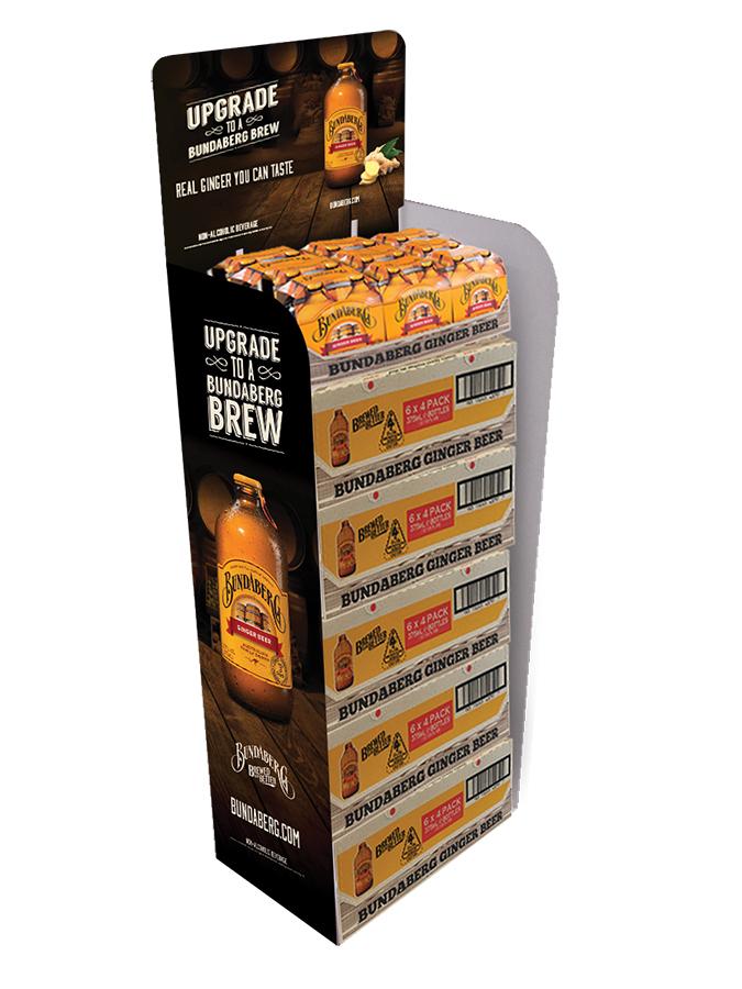 Bundaberg Capitalizes on Ginger's Popularity Ginger Beer