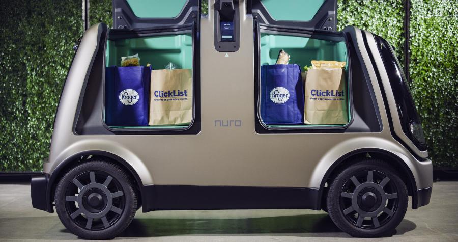 Kroger Pilots Autonomous Online Grocery Delivery