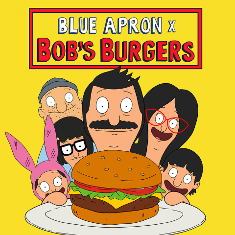 Could an Emmy-Winning Comedy Help Blue Apron Get its Groove Back Bob's Burgers Meal Kits