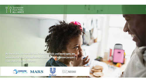 Sustainable Food Policy Alliance Launched by Major CPGs Danone North America, Mars Inc., NestléUSA, Unilever United States