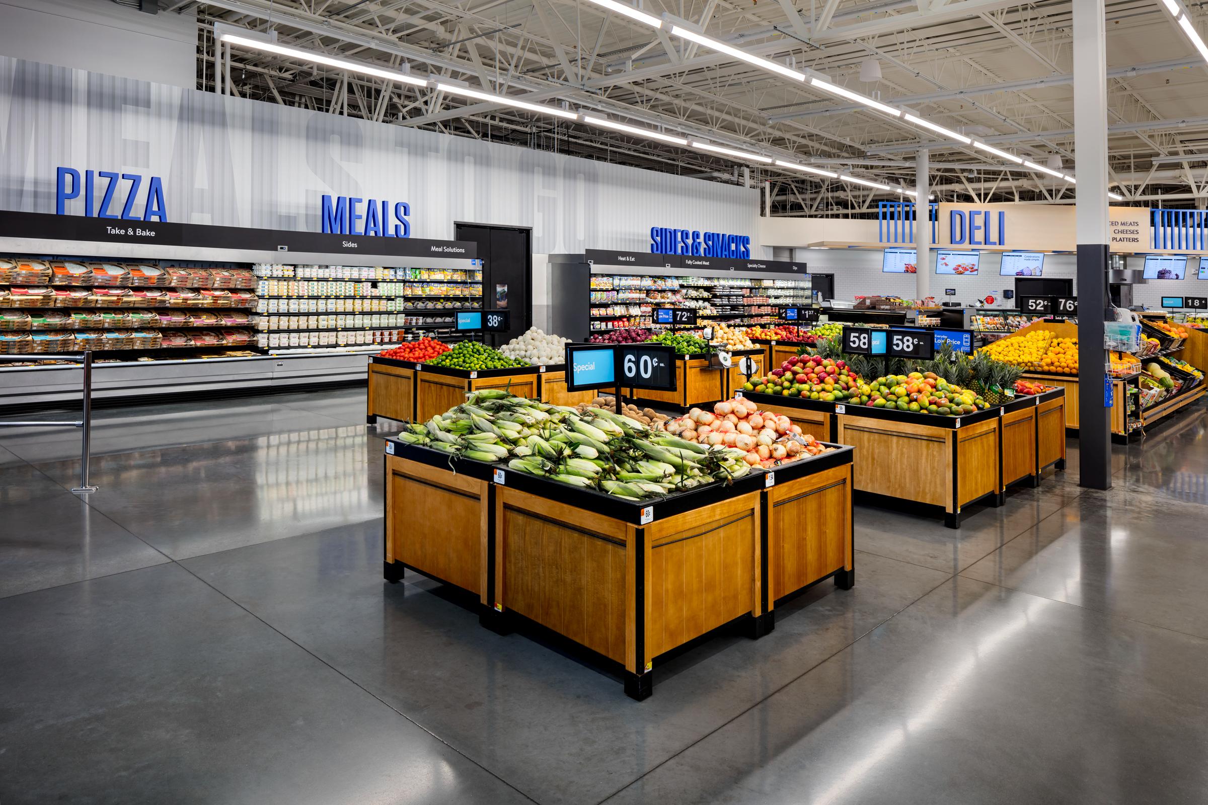 Walmart's New Store Design Reflects E-Commerce Values