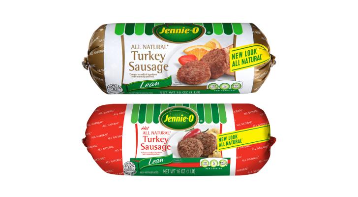 jennie o all natural turkey sausage