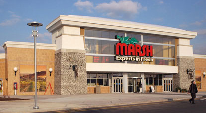 marsh seeks ok to sell stores to kroger fresh encounter cos