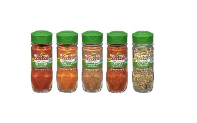 McCormick Gourmet Organic Global Seasonings | Progressive Grocer