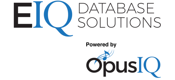 EIQ Database solutions,powered by Opus IQ