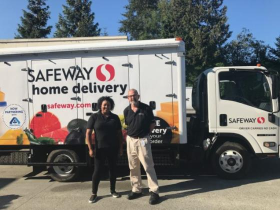 Seattle Safeway com Drivers Join Local Teamsters