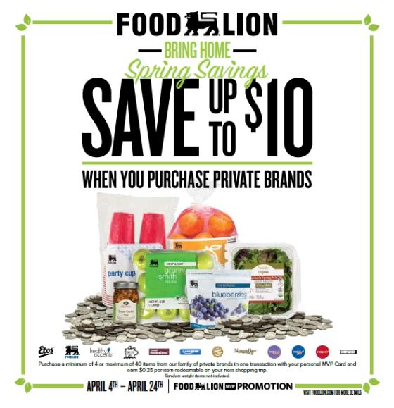 Food Lion Offers Savings on Private Brands