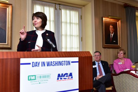 Grocers Arrive in DC for 2018 'Day in Washington'