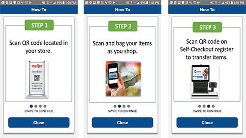 Meijer Unveils New Checkout App