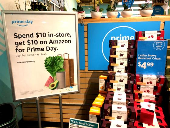Prime Day Shoppers Loved the Physical-Digital Link Between Amazon, Whole Foods