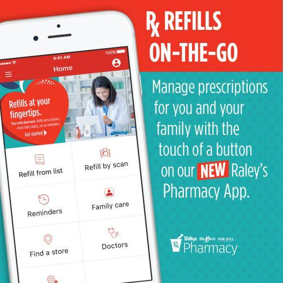 New Raley's App Lets Shoppers Manage Prescriptions via Mobile Devices