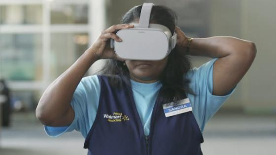 Walmart will use Oculus Go headsets to train employees in VR
