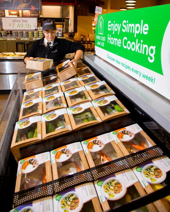 Kroger Begins In-Store Rollout of Home Chef Kits, Tests Quick-Prep Extension