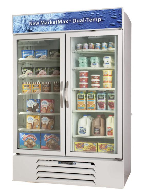 Merchandising Refrigerated and Frozen Foods Together