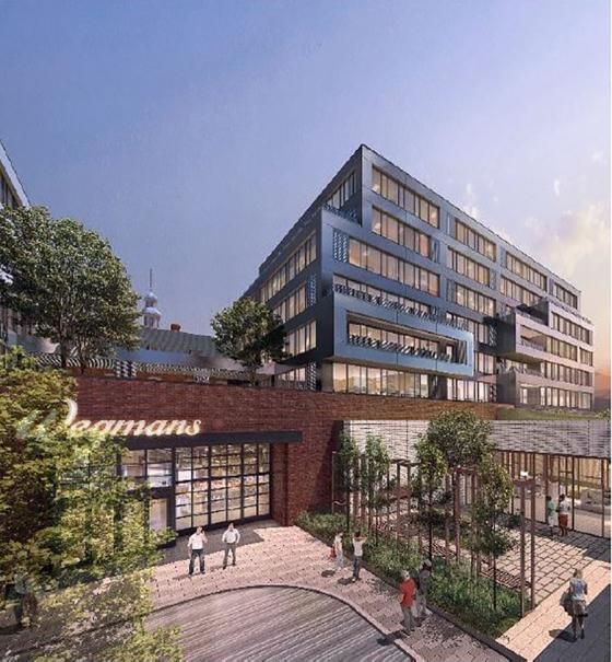 Project Housing 1st DC Wegmans Gets Underway City Ridge