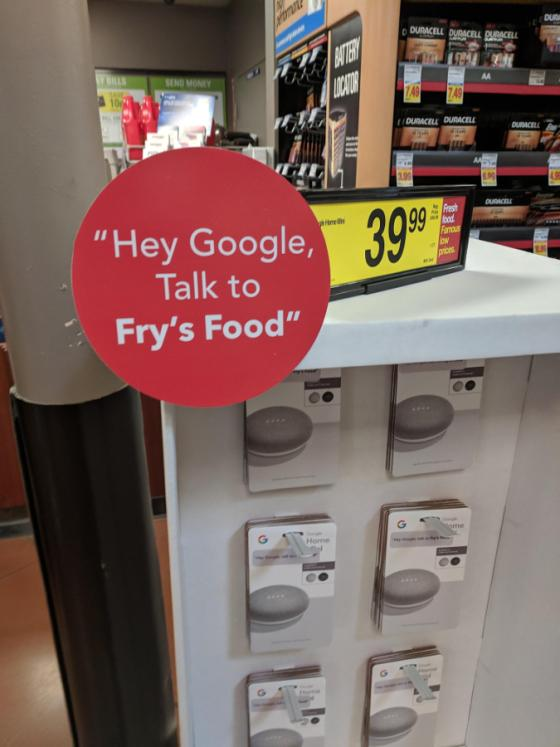 Kroger Launches Voice-Assistant Ordering for Grocery Ecommerce