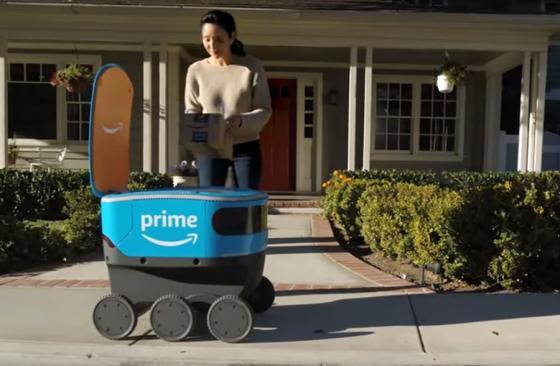 Amazon Pilots Autonomous Delivery Vehicles in Seattle Area