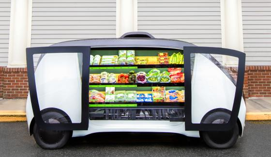Stop & Shop Is the Latest Retailer to Use Autonomous Vehicles for Grocery Delivery