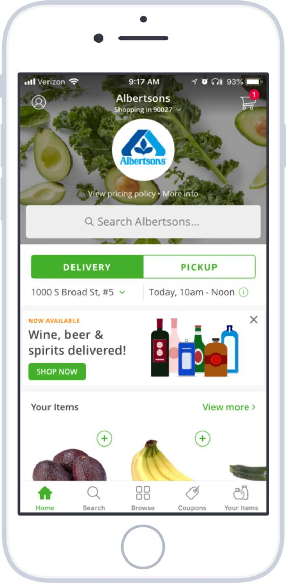 Instacart Expands Alcohol Delivery Nationwide
