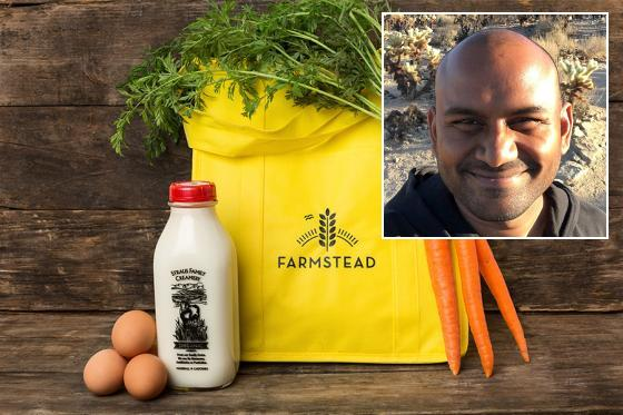 Solving the Hunger-Waste Paradox through Online Grocery: A Q&A with Farmstead Founder Pradeep Elankumaran