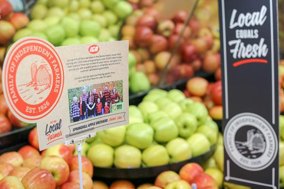 IGA Pushes Local in New Branding Campaign