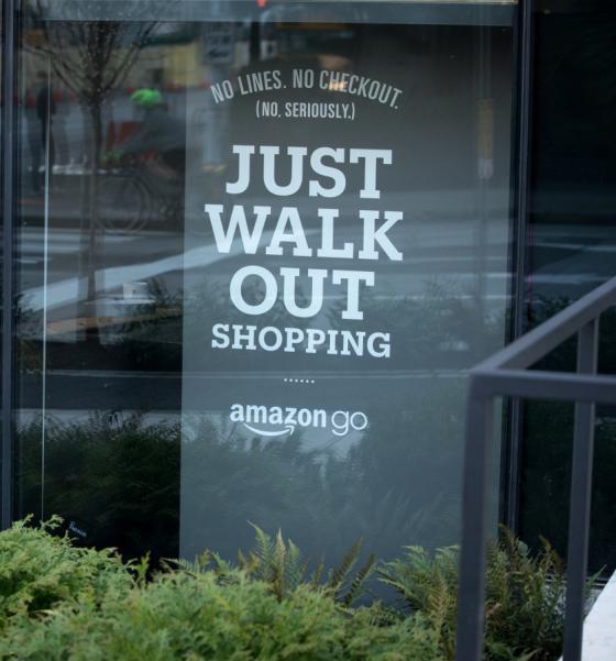 Amazon Go to Accept Cash