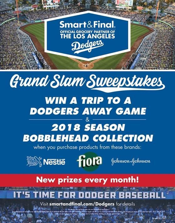 Smart & Final Runs LA Dodgers-Themed Sweepstakes