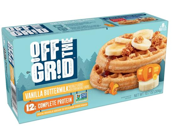 Off the Grid Protein Waffles