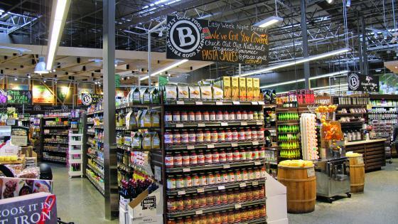 Barons Market End Cap