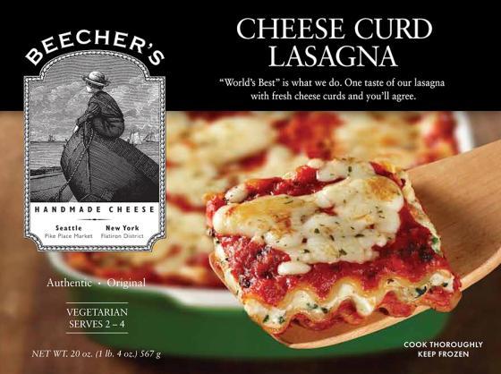 Beecher's Cheese Curd Lasagna