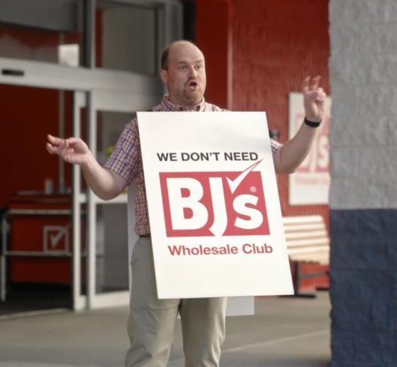 BJ's Runs Humorous Ads Ahead of Detroit Market Debut