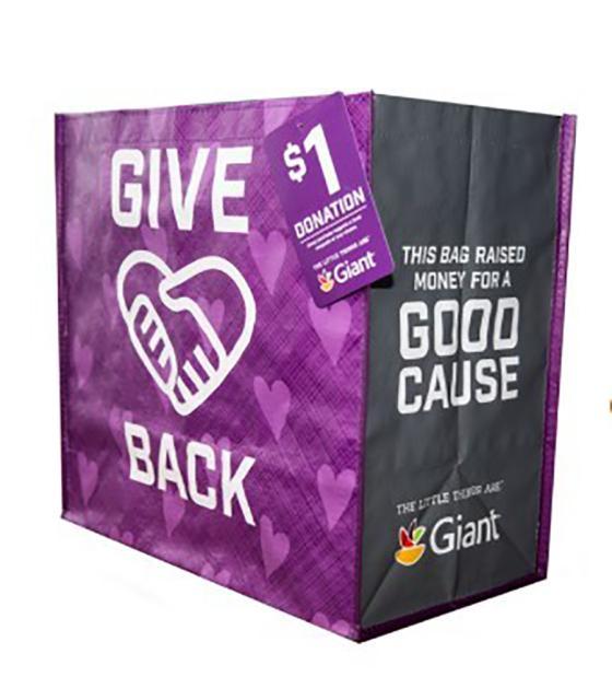 Giant Food Rolls Out Community Bag Program