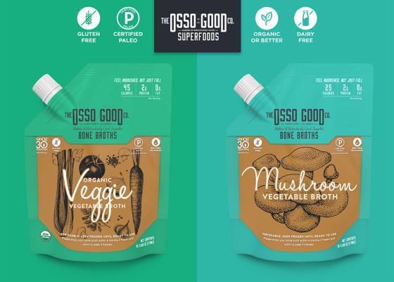 Osso Good Vegan Mushroom and Veggie Broths