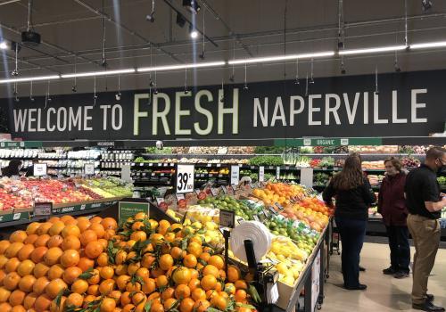 Amazon Fresh, Naperville, Illinois