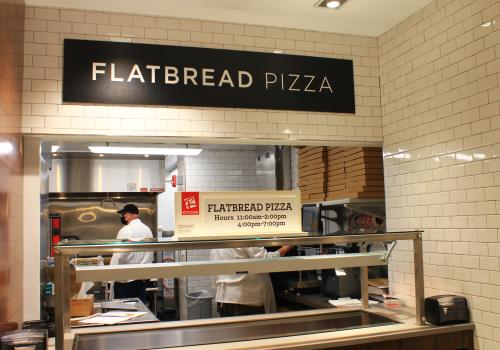Roche Bros. at Arsenal Yards Flatbread Pizza