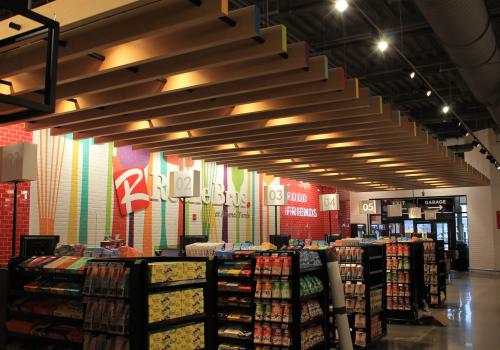 Roche Bros. at Arsenal Yards Checkout/Front End