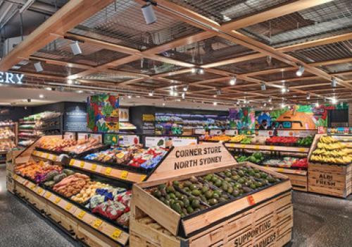 Aldi Corner Store, North Sydney