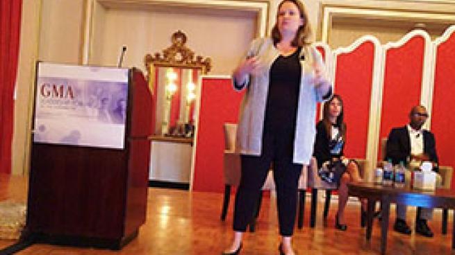 Katie Dye Deloitte GMA Forum